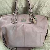 Coach Bags   Coach Madison Julianne Tote In Soft Pink   Color: Pink   Size: 14x3x12, 6 Inch Handle Drop, 16 Inch Strap Drop