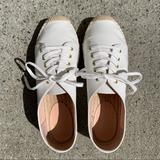 J. Crew Shoes   New J.Crew Canvas White Espadrilles   Color: White   Size: 9