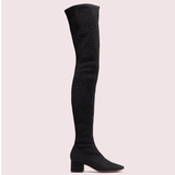 Kate Spade Shoes   Kate Spade London Sparkly Black Thigh High Boots   Color: Black   Size: 7