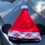 Disney Accessories | Disney Mickey Santa Hat | Color: Red | Size: Os
