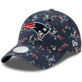 Women's New Era Navy England Patriots Blossom 9TWENTY Adjustable Hat