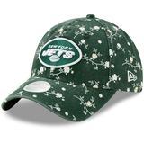 Women's New Era Green York Jets Blossom 9TWENTY Adjustable Hat