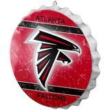 Atlanta Falcons Distressed Logo Bottle Cap Sign