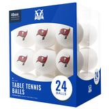 Tampa Bay Buccaneers 24-Count Logo Table Tennis Balls