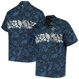 Men's Tommy Bahama Navy Dallas Cowboys Pina Plazzo Silk Camp Shirt