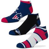 Women's For Bare Feet New England Patriots Show Me The Money Ankle Socks