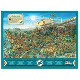 Miami Dolphins 500-Piece Joe Journeyman Puzzle