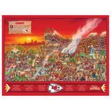 Kansas City Chiefs 500-Piece Joe Journeyman Puzzle