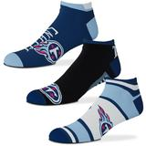 Women's For Bare Feet Tennessee Titans Show Me The Money Ankle Socks