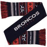 FOCO Denver Broncos Reversible Ugly Scarf