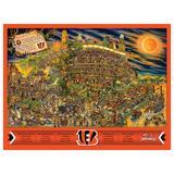 Cincinnati Bengals 500-Piece Joe Journeyman Puzzle