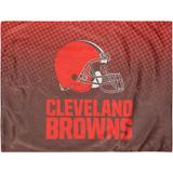 Cleveland Browns Two-Pack Plush Dot Pillow Protectors