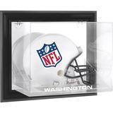 Washington Football Team Black Framed Wall-Mountable Logo Helmet Case