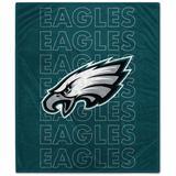 Philadelphia Eagles 60'' x 70'' Echo Plush Blanket