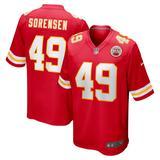 Men's Nike Daniel Sorensen Red Kansas City Chiefs Game Jersey