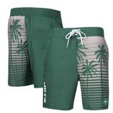 Men's G-III Sports by Carl Banks Green New York Jets Volley Swim Trunks