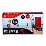 Wicked Big Sports Volleyball, Red