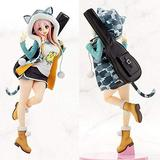 Weahkee Anime Super Sonico Supersonico Tiger Parka Figure Ver. PVC Figure Toy Gift