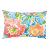 """20"""" x 13"""" Lumbar Pillow by BrylaneHome in Poppy Blue"""