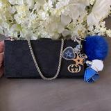 Gucci Bags | Gucci Gg Monogram X Dallas Cowboys Wallet W Cert | Color: Black/Silver | Size: Os
