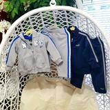 Nike Matching Sets | 4 Items Baby Boys Nike And Puma Outfits In Sz.12m | Color: Blue/Gray | Size: 12mb