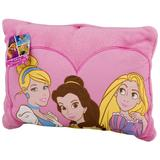 Disney Bedding   Disney Princess Decorative Toddler Pillow   Color: Pink/Yellow   Size: 16in.X12in.