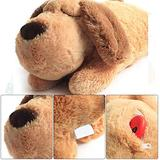 AMZCT77 Pet Plush Toy, Puppy Gifts,Puppy Anxiety Relief Toy Heart Beat Soothing Plush Doll, Pet Sleep Aid Plush Toy, Comfortable Behavioral Training Aid Toy