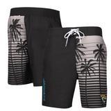 Men's G-III Sports by Carl Banks Black Jacksonville Jaguars Volley Swim Trunks