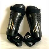 Adidas Other   Adidas Child Soccer Predator Club Shinguards Sz Lg   Color: Black/Silver   Size: Large