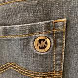 Michael Kors Jeans | Michael Kors Classic Straight Leg Denim Jean | Color: Blue | Size: 8