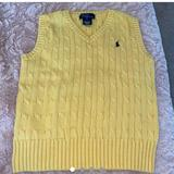 Polo By Ralph Lauren Tops | Polo Sweater Vest | Color: Black/Yellow | Size: S