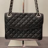 Rebecca Minkoff Bags | Rebecca Minkoff Chain Strap Crossbody Bag | Color: Black/Silver | Size: Os