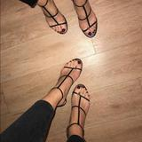 Zara Shoes   Red Strappy Sandals   Color: Red   Size: 7.5