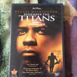 Disney Other | Remember The Titans Movie | Color: Tan | Size: 1 Dvd
