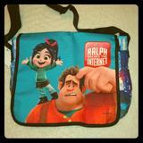 Disney Accessories | Ralph Breaks The Internet Laptop Bag | Color: Blue/Red | Size: Osb