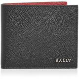 Essence Leather Bifold Wallet - Red - Bally Wallets