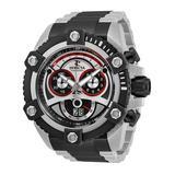 Invicta Men's Watches - Dark Gray & Stainless Steel Reserve Chronograph Watch - Men