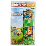 Minecraft Little Boys 5-pk. Character Print Briefs