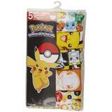 Pokemon Little Boys 5-pk. Character Print Briefs