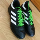 Adidas Shoes   Adidas Goletto Vi Tf Soccer Shoes Size 8   Color: Black/Green   Size: 8