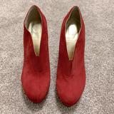 Nine West Shoes | Nine West Shoe Boots | Color: Red | Size: 8