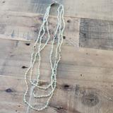 Anthropologie Jewelry | Anthropologie Beaded Light Green Multi Strand Gold | Color: Gold/Green | Size: Os