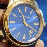 Michael Kors Accessories | Michael Kors Women'S Watch Midnight Blue Dial | Color: Blue/Gold | Size: Os