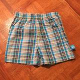 Disney Bottoms   3$15 Disney Baby - Boy Plaid Shorts   Color: Blue/Gray   Size: 18mb