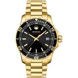 Series 800 Gold-tone Swiss Quartz Analog Movement Watch - Metallic - Movado Watches