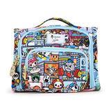JuJuBe | Mini BFF Kids Backpack Messenger Bag for School, Daycare | Lightweight, Convertible | Tokidoki | Team Toki