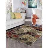 Kalea Seafoam Machine Washable Large 8x10 Area Rug for Living Room and Bedroom Modern Carpet - Alfombras para Salas Grandes Modernas