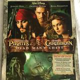 Disney Other | Dvd Disney Pirates Of The Caribbean | Color: black | Size: Os