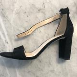 Nine West Shoes   Nine West Black Suede High Heel Sandals   Color: Black   Size: 10