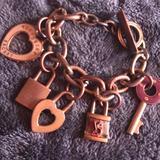 Victoria's Secret Jewelry | Charm Bracelet | Color: Gold | Size: Os